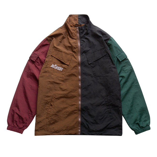 Packable Crinkle Nylon Jacket - Dark