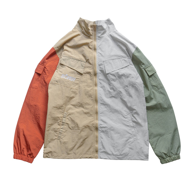 Packable Crinkle Nylon Jacket - Light