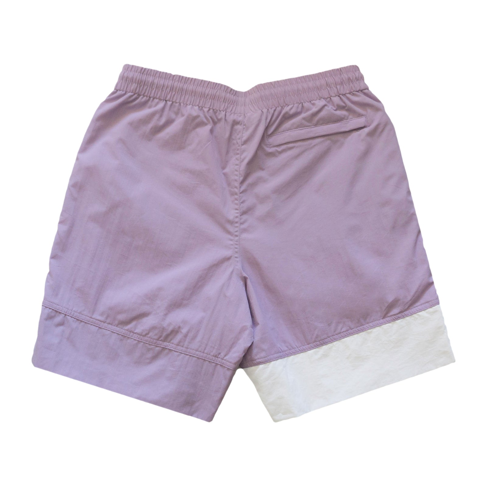 Logo Panel Water Shorts - Lavender/White