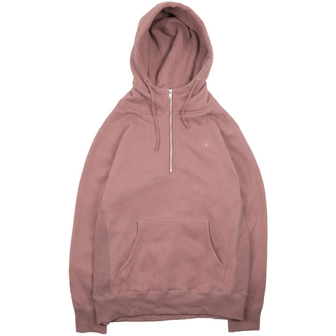 Quarter Zip Tonal Flag Pullover - Desert Clay