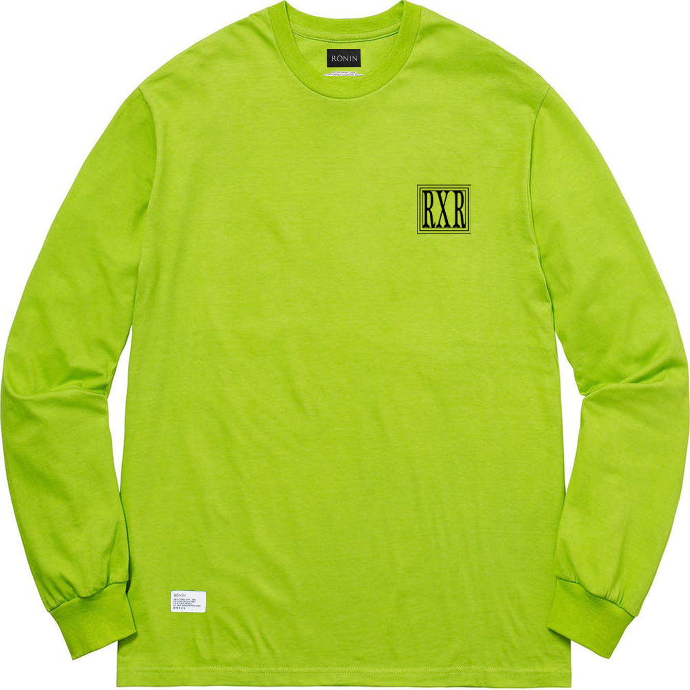 RxR Long Sleeve - Lime