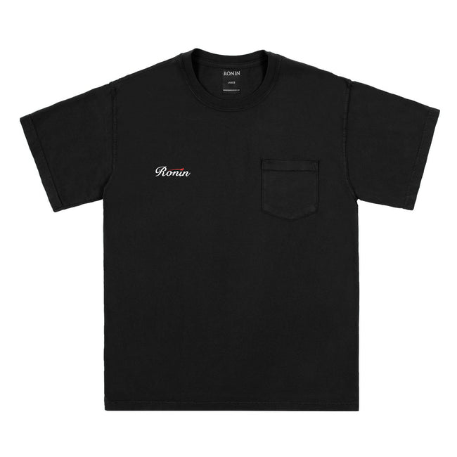 Finals Pocket Tee - Black