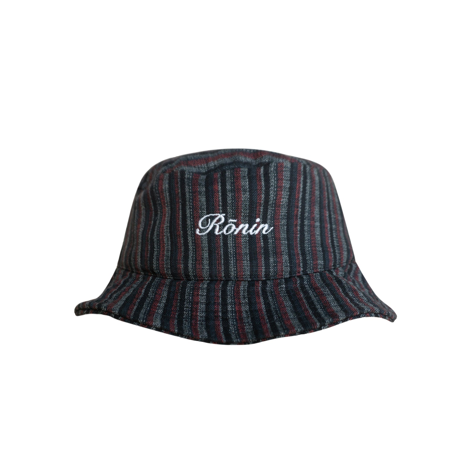 Script Logo Bucket Hat - Red