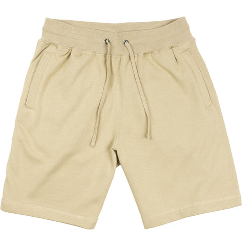 French Terry Sweat Shorts - Beige