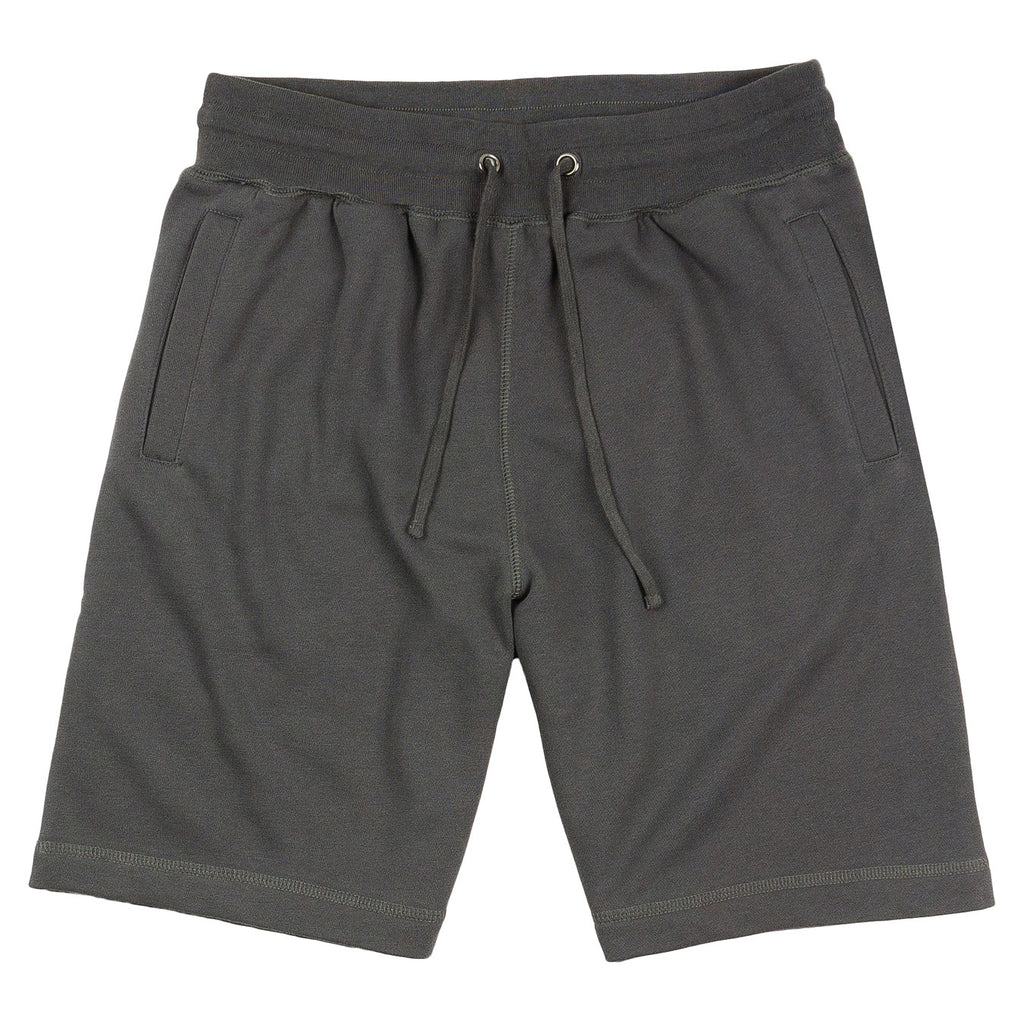 French Terry Sweat Shorts - Charcoal