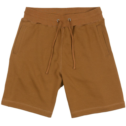 French Terry Sweat Shorts - Rust