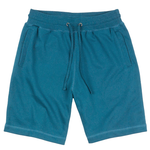 French Terry Sweat Shorts - Teal