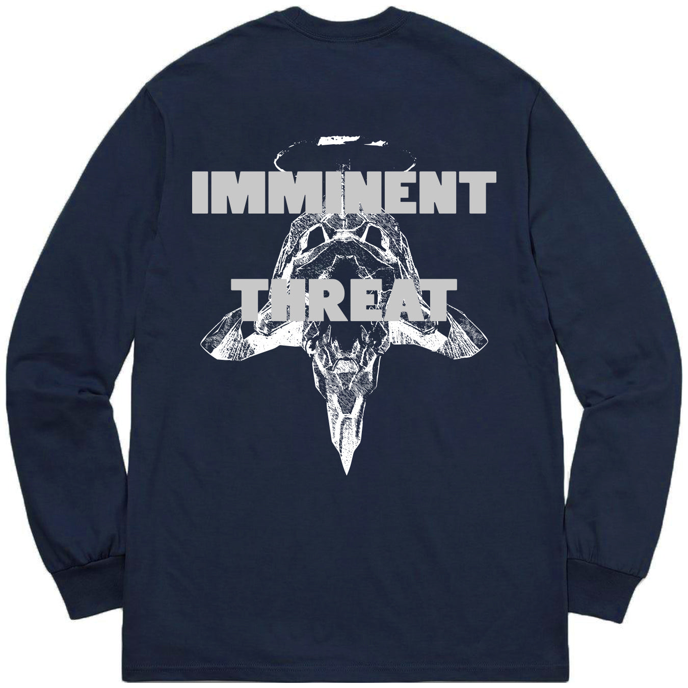 Imminent Threat Long Sleeve - Navy