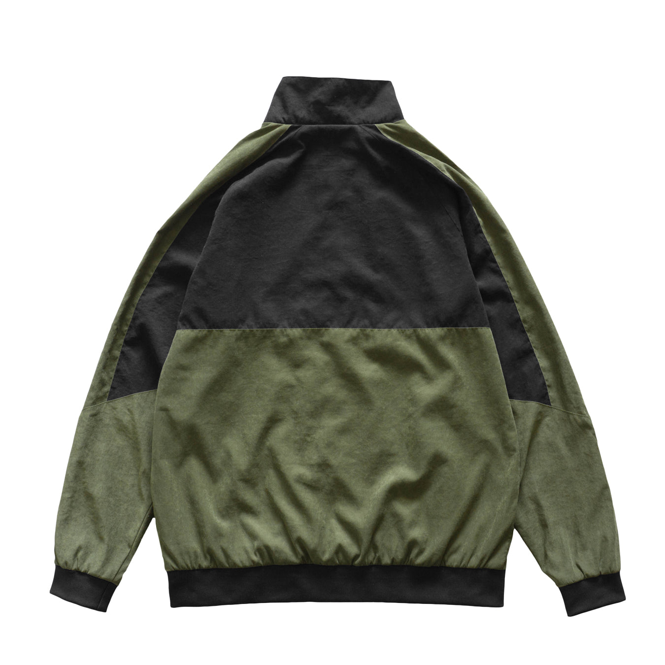 Viscose Logo Jacket - Black/Olive