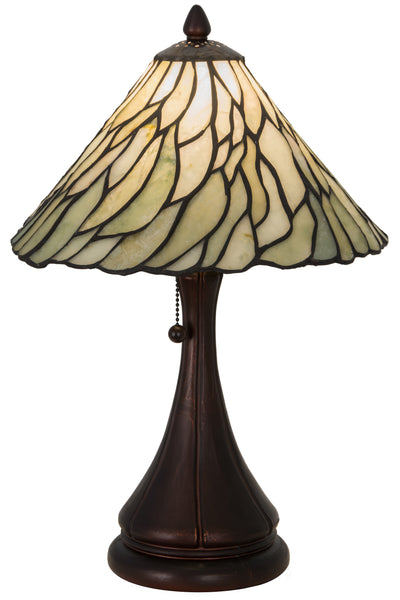 "Meyda Lighting 107365 18""H Willow Jadestone Table Lamp"