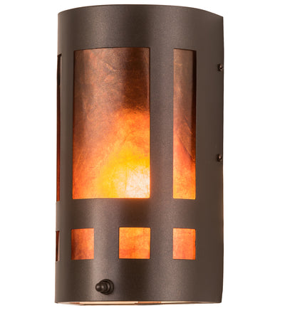 "Meyda Lighting 10916 5"" Wide Sutter Wall Sconce"