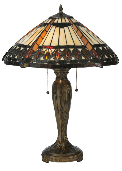 "Meyda Lighting 119679 25""H Cleopatra Table Lamp"