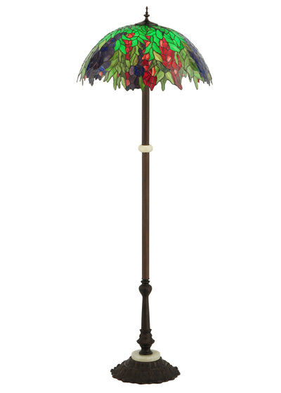 "Meyda Lighting 122380 63""H Honey Locust Floor Lamp"