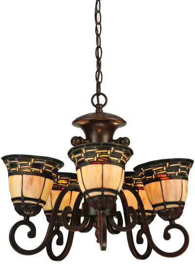 "Meyda Lighting 125117 20""W Ilona 5 LT Chandelier"