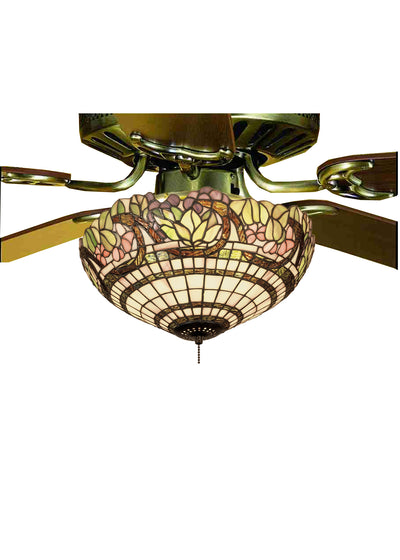 "Meyda Lighting 12706 15""W Handel Grapevine Fan Light Fixture"