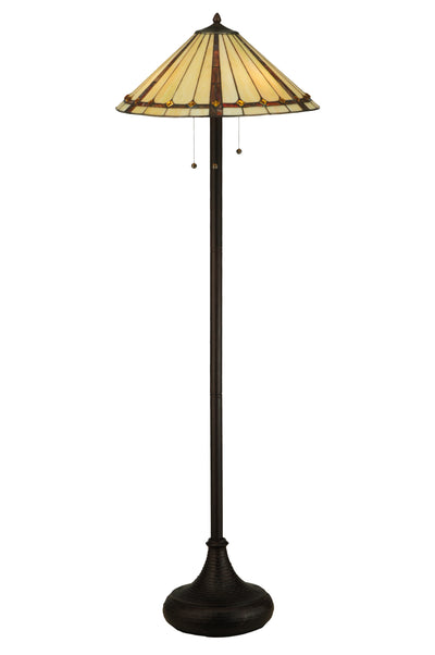 "Meyda Lighting 130742 61""H Belvidere Floor Lamp"