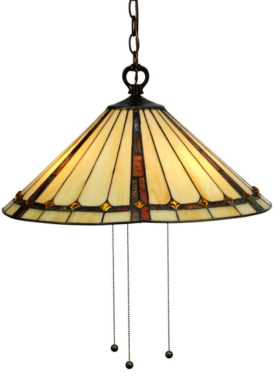"Meyda Lighting 130744 20""W Belvidere Pendant"