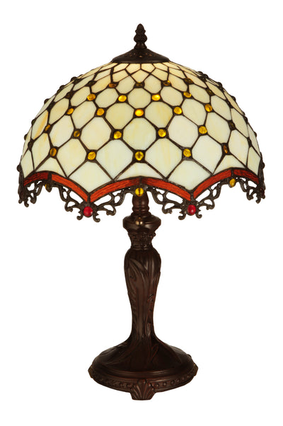 "Meyda Lighting 130761 20""H Jeweled Katherine Table Lamp"