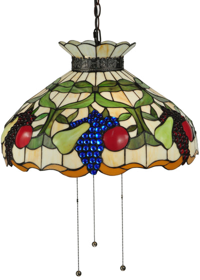 "Meyda Lighting 132674 20""W Fruit Pendant"