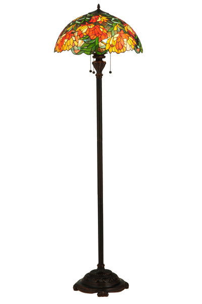 "Meyda Lighting 134535 66""H Lamella Floor Lamp"
