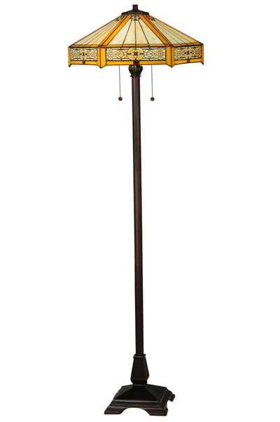 "Meyda Lighting 138114 62""H Peaches Floor Lamp"