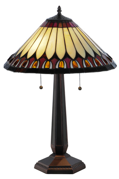 "Meyda Lighting 138579 24.5""H Tuscaloosa Table Lamp"