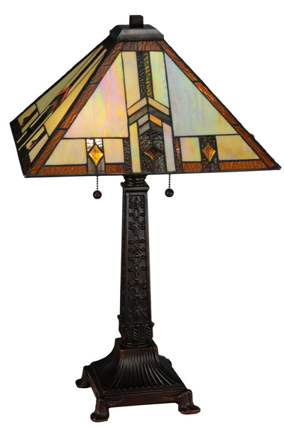 "Meyda Lighting 138773 26""H Prairie Wheat Harvest Table Lamp"