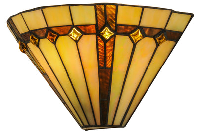 "Meyda Lighting 138902 13""W Belvidere Wall Sconce"