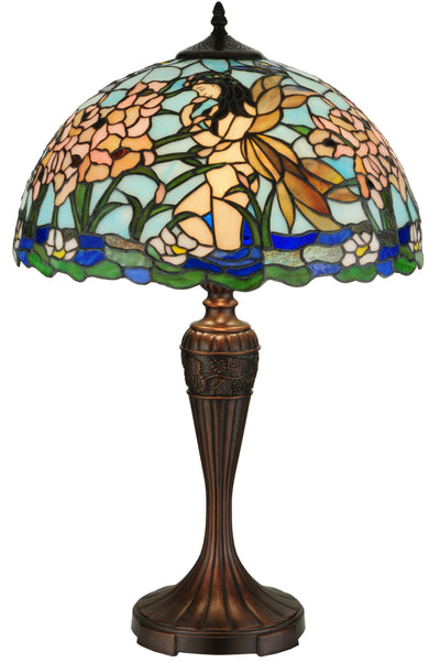 "Meyda Lighting 140006 26.5""H Fairy Pond Table Lamp"