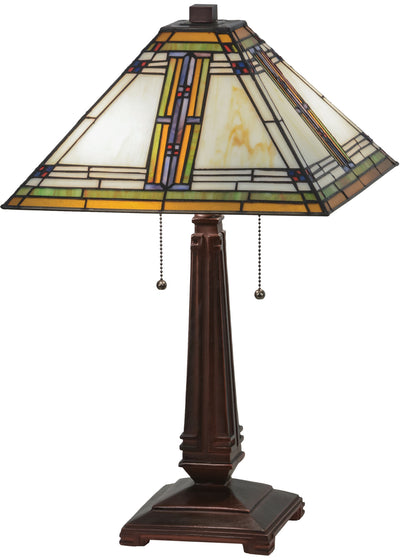 "Meyda Lighting 143149 23""H Nevada Table Lamp"
