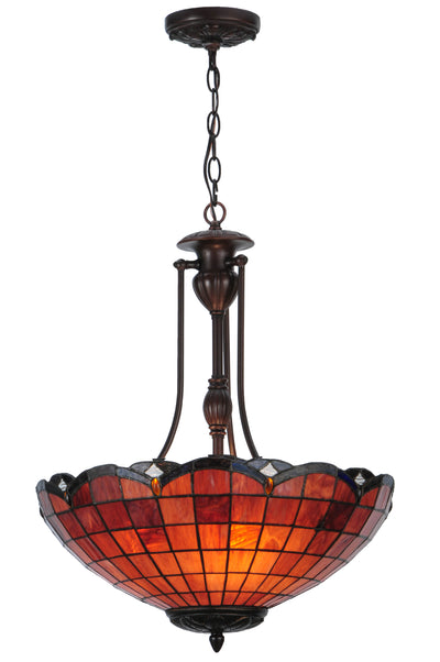 "Meyda Lighting 144323 20""W Elan Inverted Pendant"