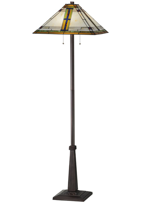 "Meyda Lighting 145071 63""H Nevada Floor Lamp"