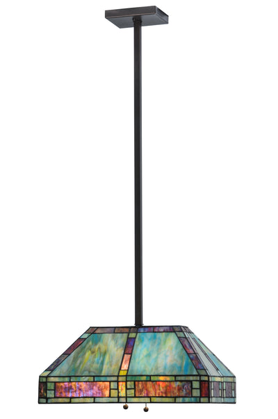 "Meyda Lighting 145273 20""L Chaves Oblong Pendant"