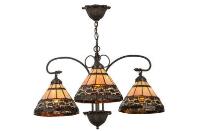 "Meyda Lighting 147729 28""W Ilona 3 LT Chandelier"