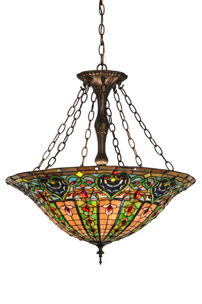 "Meyda Lighting 149669 24""W Bella Inverted Pendant"