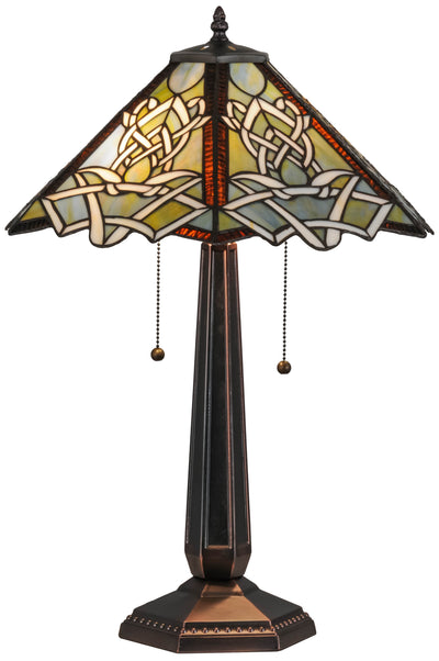 "Meyda Lighting 154481 24.5""H Glasgow Bungalow Table Lamp"