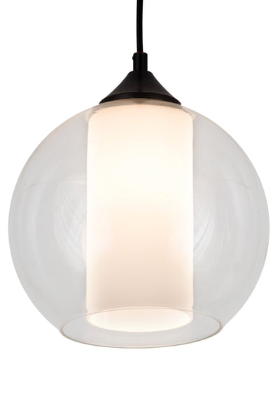 "Meyda Lighting 163331 9.5""W Bola Cilindro Pendant"