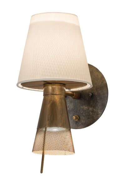 "Meyda Lighting 164916 7""W Brewster Wall Sconce"