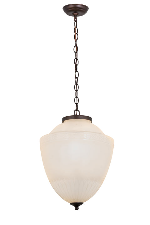 "Meyda Lighting 172339 14""W Ovum Aquinum Pendant"