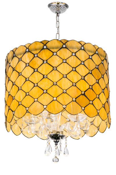 "Meyda Lighting 175299 25""W Giacomo Gatsby Pendant"