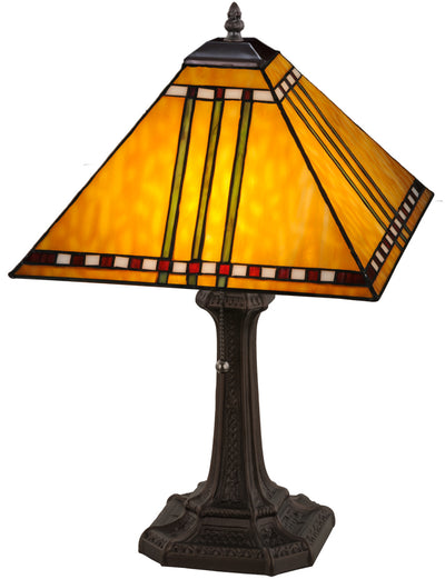 "Meyda Lighting 181598 19""H Prairie Corn Table Lamp"