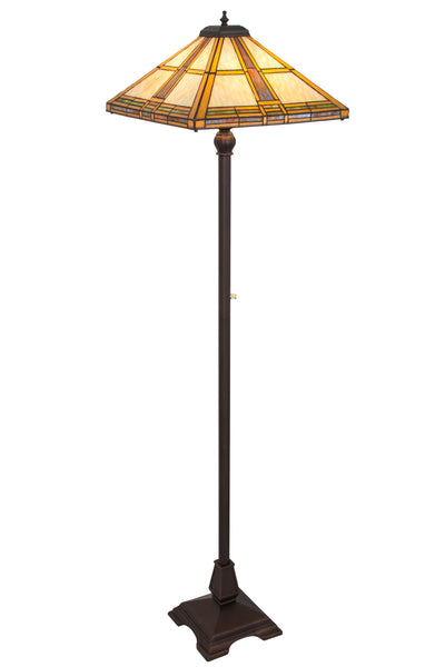 "Meyda Lighting 185696 62""H Prairie Straw Floor Lamp"