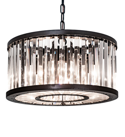 "Meyda Lighting 186386 18"" Wide Beckam Pendant"