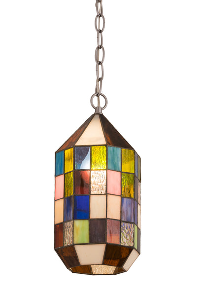 "Meyda Lighting 189619 6""W Meyer Lantern Mini Pendant"