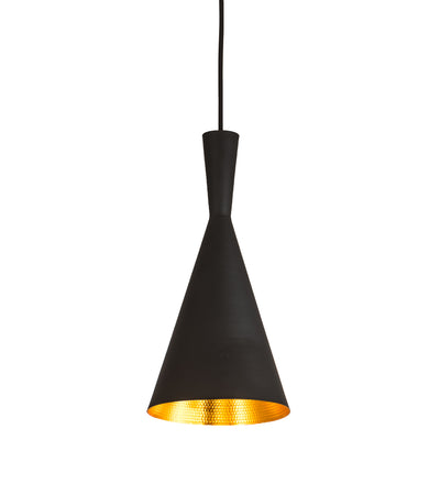 "Meyda Lighting 192174 7.5"" Wide Cone Mini Pendant"