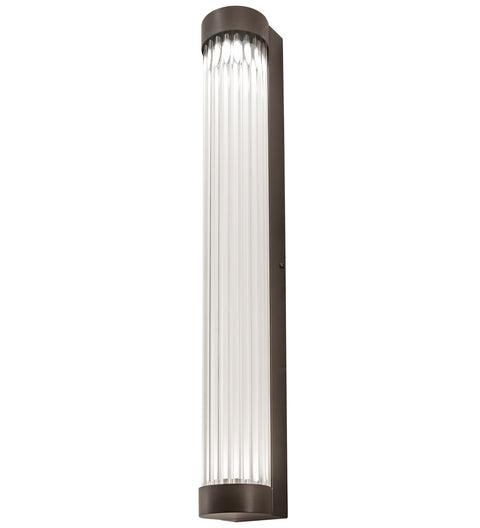 "Meyda Lighting 198852 3"" Wide Cilindro Pipette LED Wall Sconce"