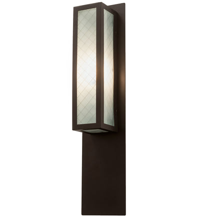 "Meyda Lighting 199446 6"" Wide Quadrato Diamond Wall Sconce"