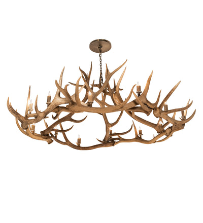 "Meyda Lighting 212271 85"" Wide Antlers 12 Light Chandelier"