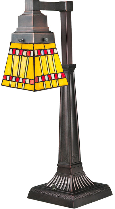 "Meyda Lighting 27657 20""H Prairie Corn Desk Lamp"