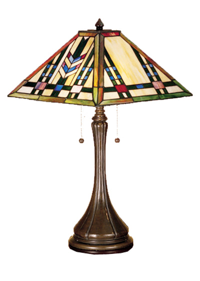 "Meyda Lighting 31249 23""H Prairie Wheat Table Lamp"